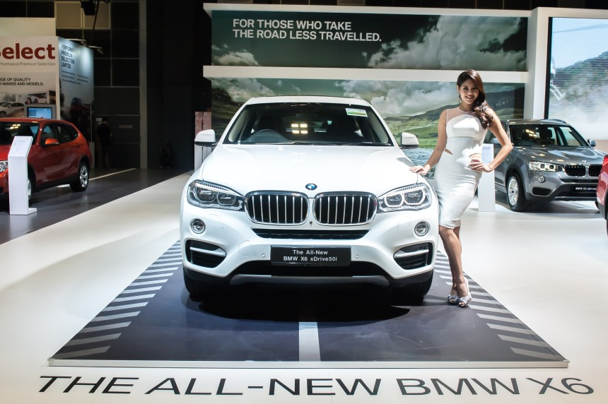 Launch of the new BMW X6 xDrive50i