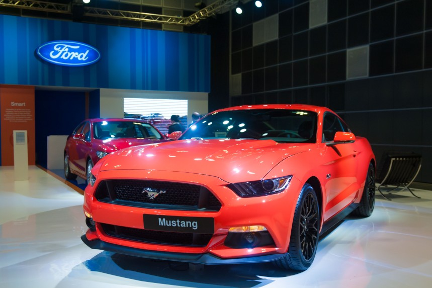 Launch of the first-ever Ford Mustang in Singapore (available in RHD)