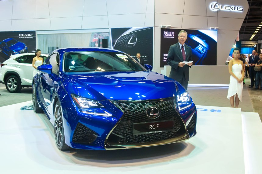 Launch of the new Lexus RC-F