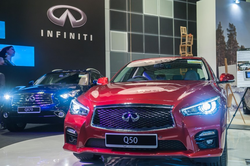The new Infiniti Q50 and QX70