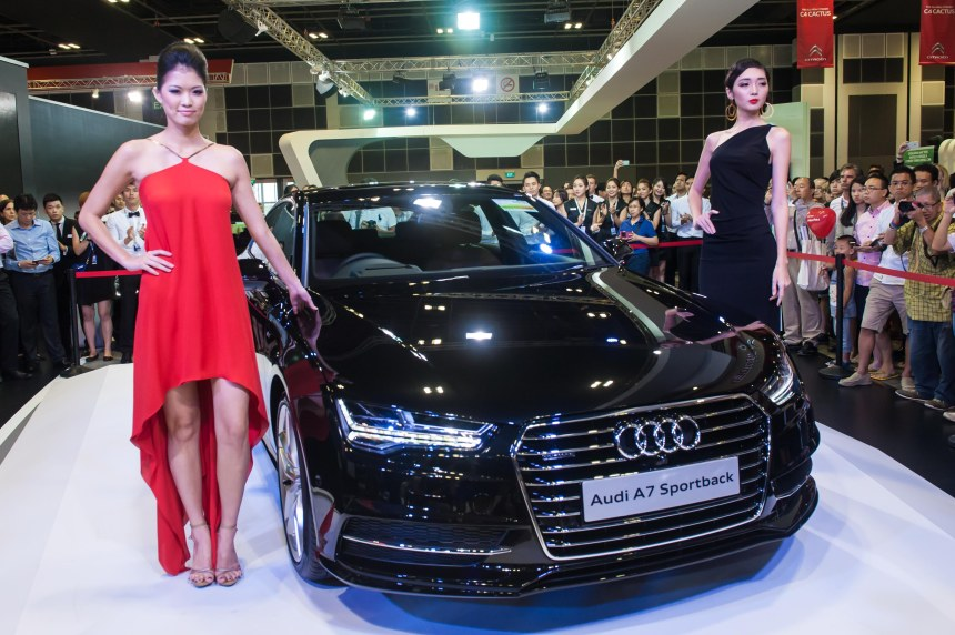 Launch of the new Audi A7 Sportback