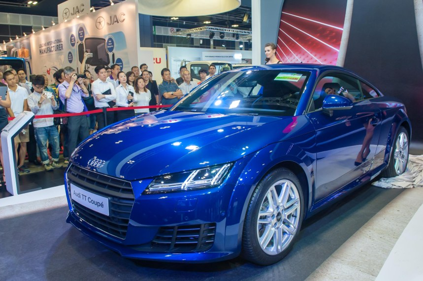 Launch of the new Audi TT Coupe