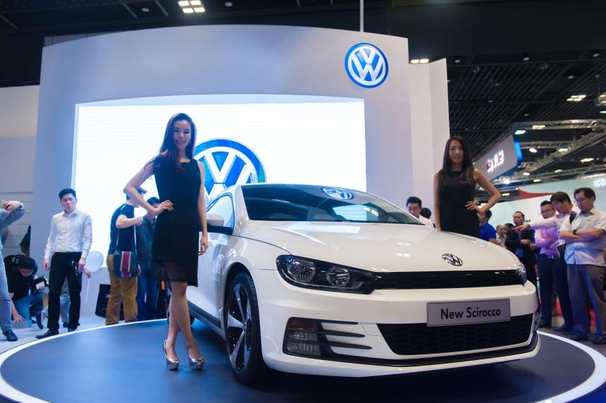 Launch of the new Volkswagen Scirocco