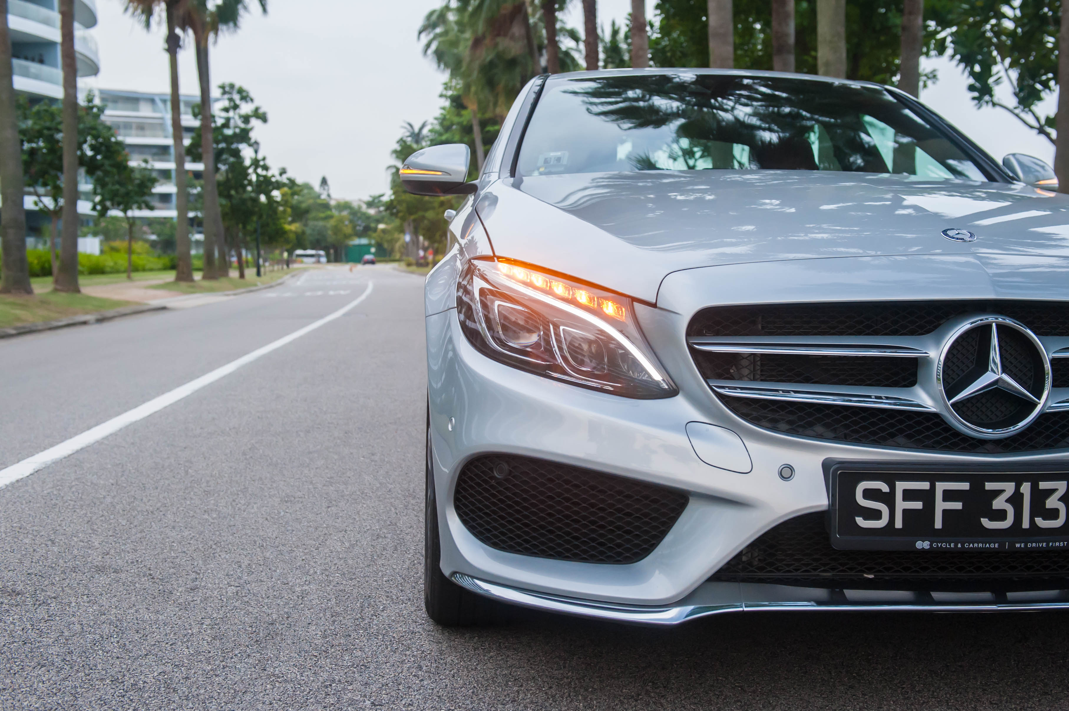 MercedesBenz C250 AMG  Captivating your senses  Revvvolution